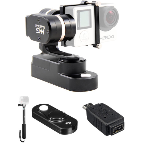 Feiyu WG 3-Axis Wearable Gimbal Kit with Selfie Stick and Remote