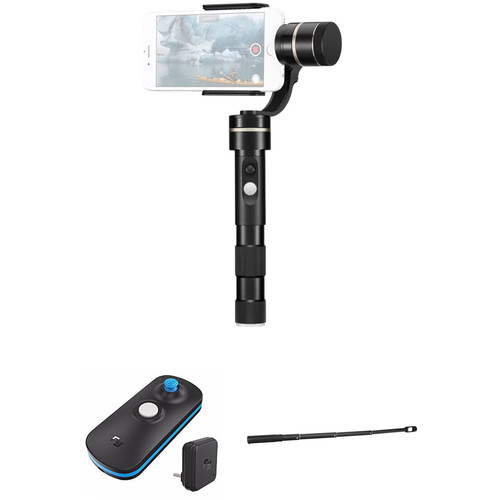 Feiyu G4 Pro Gimbal Kit with Wireless Remote & Telescoping Extension Bar