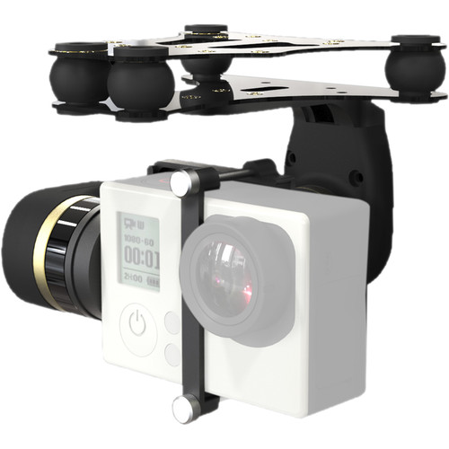 Feiyu MiNi 2D 2-Axis Aircraft Gimbal for GoPro
