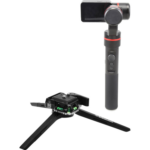 Feiyu SUMMON 3-Axis Gimbal with Built-In 4K Camera & Low CG Tripod Kit