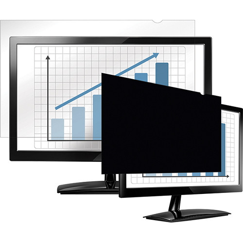 "Fellowes PrivaScreen Blackout Privacy Filter (24"" Wide)"