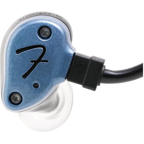 Fender IEM NINE-1 In-Ear Monitoring Headphones (Gun Metal Blue)