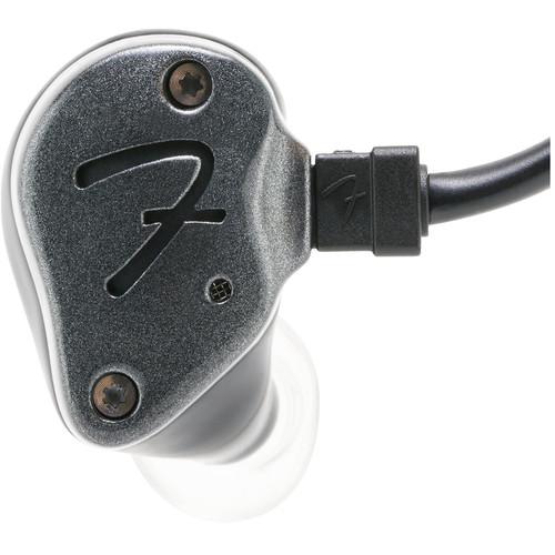 Fender IEM TEN-3 In-Ear Monitoring Headphones (Pewter)