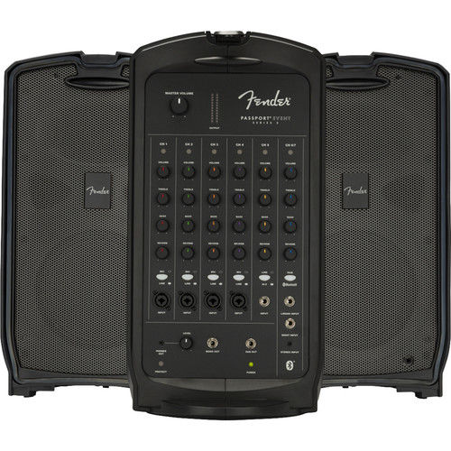 Fender Passport Event S2 375W 7-Channel Portable PA System with Bluetooth