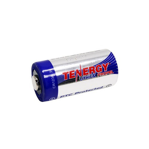 Fenix Flashlight Tenergy CR123A Lithium Propel Battery(3V, 1400mAh) - single-Pack