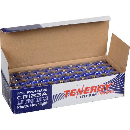 Fenix Flashlight Tenergy CR123A Lithium Propel Batteries(3V, 1400mAh) - 40-pack of-Pack