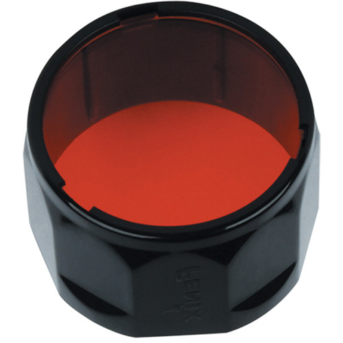 Fenix Flashlight AD301-R Red Filter Adapter for Select LD and PD Series Flashlights