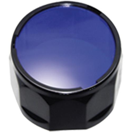 Fenix Flashlight AD302 Filter Adapter for Select TK Series Flashlights (Blue)