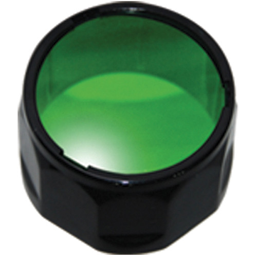 Fenix Flashlight AD302 Filter Adapter for Select TK Series Flashlights (Green)