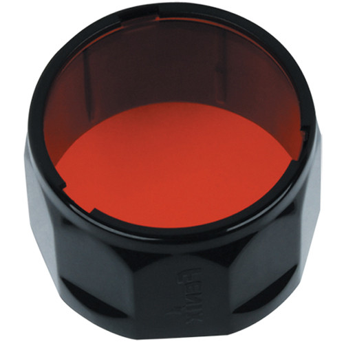 Fenix Flashlight AD302 Filter Adapter for Select TK Series Flashlights (Red)
