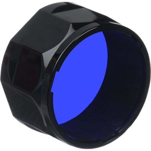 Fenix Flashlight Blue Colored Filter Adapter (Large)