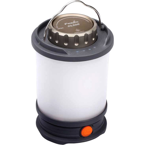 Fenix Flashlight CL30R Rechargeable Camping Lantern (Gray)