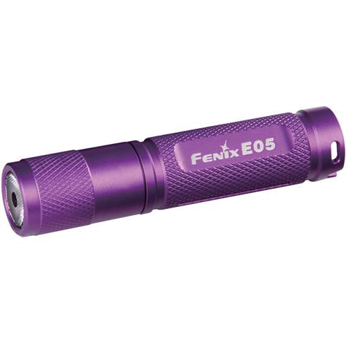 Fenix Flashlight E05 LED Flashlight (Purple)