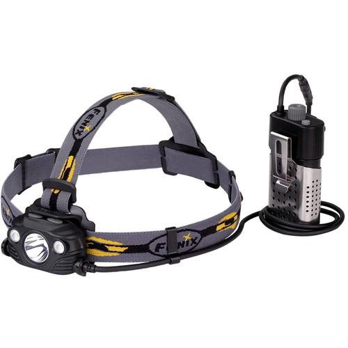 Fenix Flashlight HP30R Rechargeable Headlamp (Gray)