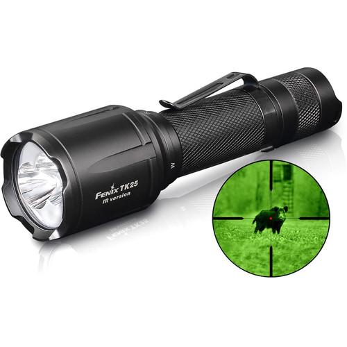 Fenix Flashlight TK25 IR Flashlight with Infrared Illuminator (Black)