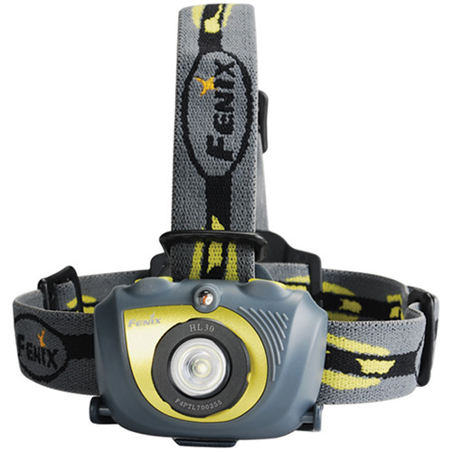 Fenix Flashlight HL30 LED Headlamp (Green)