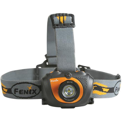 Fenix Flashlight HL30 LED Headlamp (Orange)