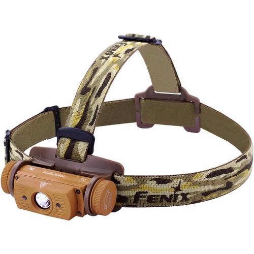 Fenix Flashlight HL60R Rechargeable Headlamp (Desert)