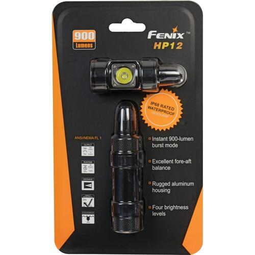 Fenix Flashlight HP12 LED Headlight (Black)