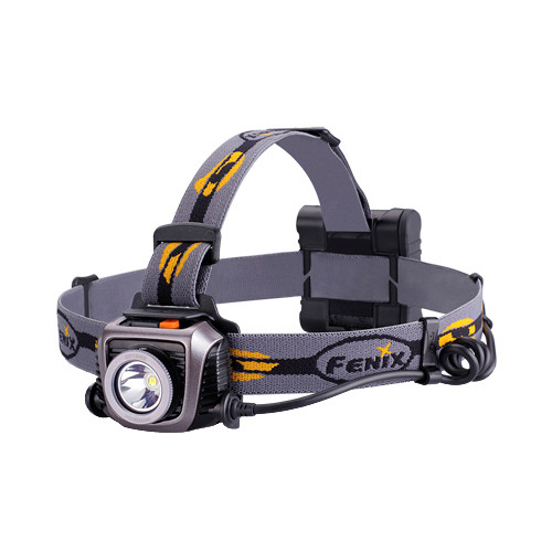 Fenix Flashlight HP15 UE LED Headlight (Gray)
