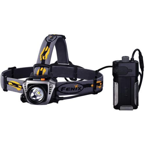Fenix Flashlight HP30 LED Headlamp (Gray)