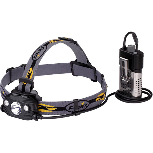 Fenix Flashlight HP30R Rechargeable Headlamp (Black)