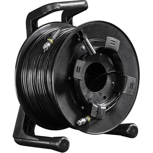 FieldCast 2Core Single-Mode Fiber Optic Cable on Winding Drum (Heavy-Duty, 656')