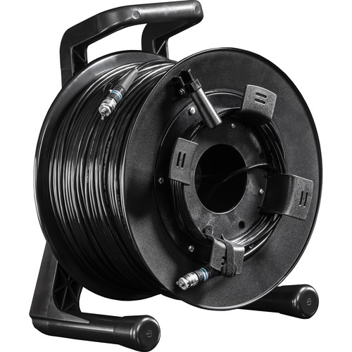 FieldCast 2Core Multi-Mode Fiber Optic Cable on Winding Drum (Heavy-Duty, 656')