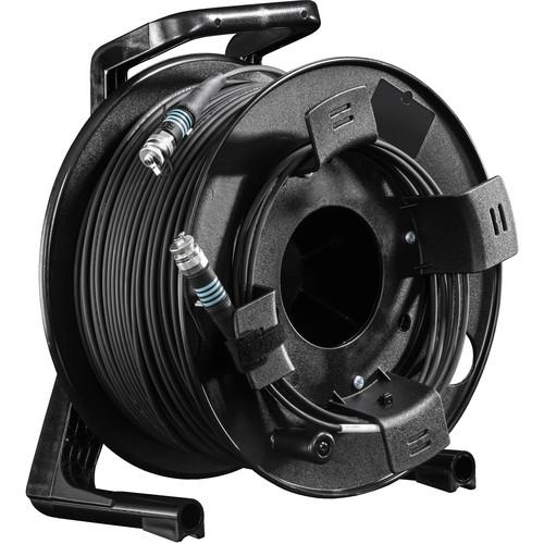 FieldCast 4Core Multi-Mode Fiber Optic Cable on Winding Drum (Ultra-Light, 656')