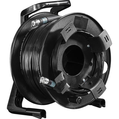 FieldCast 4Core Multi-Mode Fiber Optic Cable on Winding Drum (Heavy-Duty, 328')