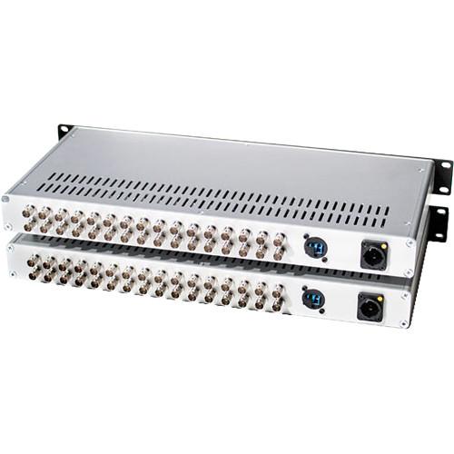 FieldCast Mux/Demux Three (16-Channel 12G-SDI to Fiber Optic Multiplexer-Demultiplexer CWDM Box)