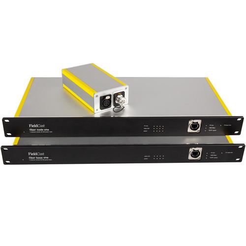 FieldCast Fiber Node System One for 4 PTZ Cameras