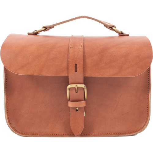 Figbags The Lincoln Leather Bag (Tan)