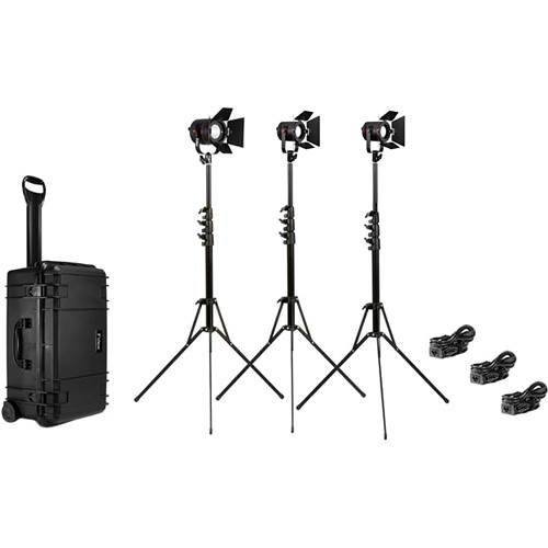 Fiilex K313 3-Light Interview Kit with Case