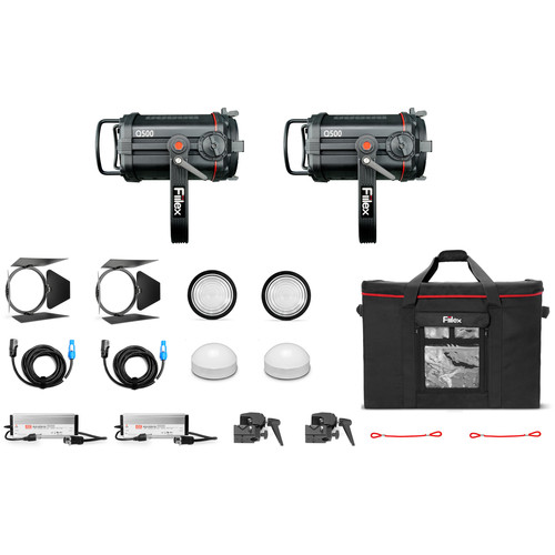 Fiilex K252 Q500-DC 2-Light Kit