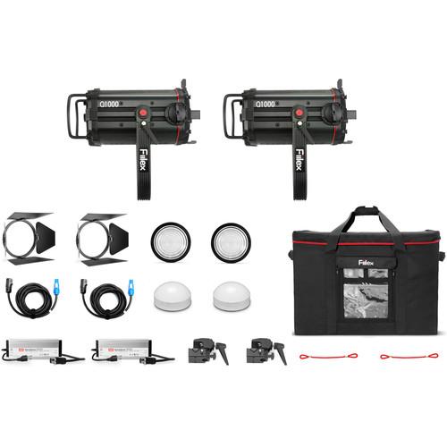 Fiilex K254 Q1000-DC 2-Light Kit