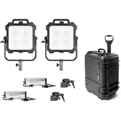 Fiilex X241 Matrix-II Tunable White Bi-Color LED 2-Light Travel Kit