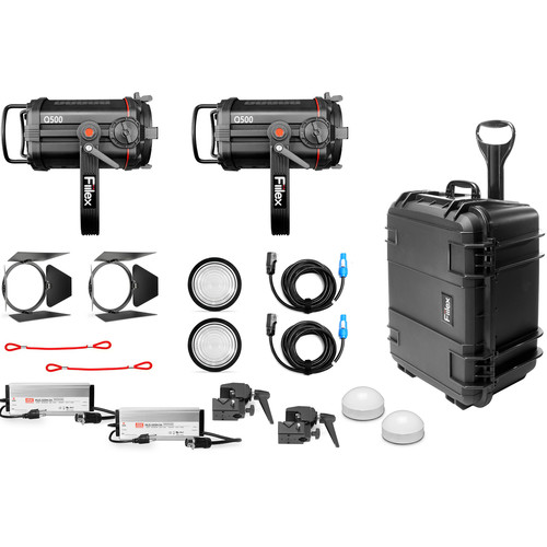 Fiilex X252 Q500-DC 2-Light Fresnel Kit