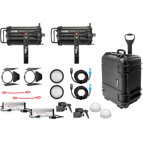 Fiilex X254 Q1000-DC 2-Light Fresnel Kit