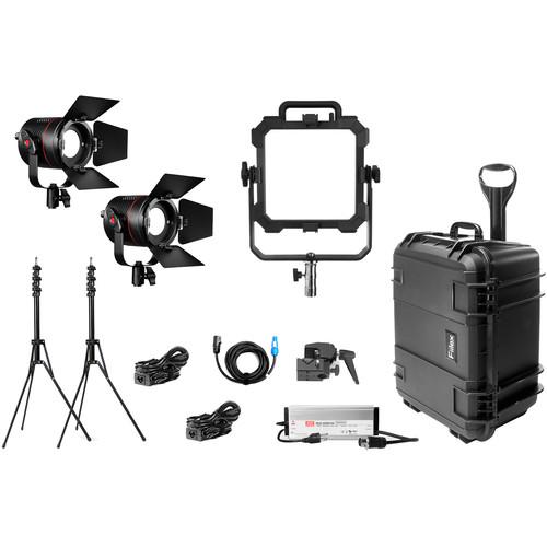 Fiilex X316 1-Matrix 2-P360 Pro Plus 3-Light LED Gaffer's Interview Kit