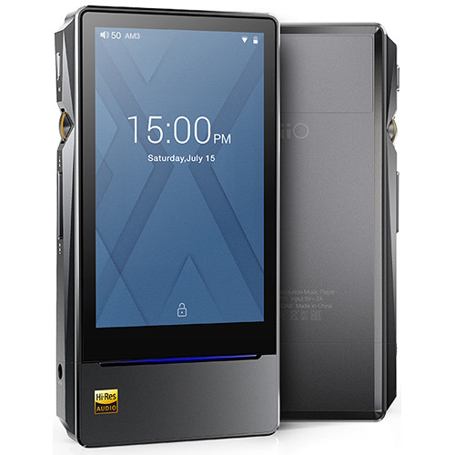 FiiO X7 Mark II Portable High-Resolution Audio Player (Titanium)