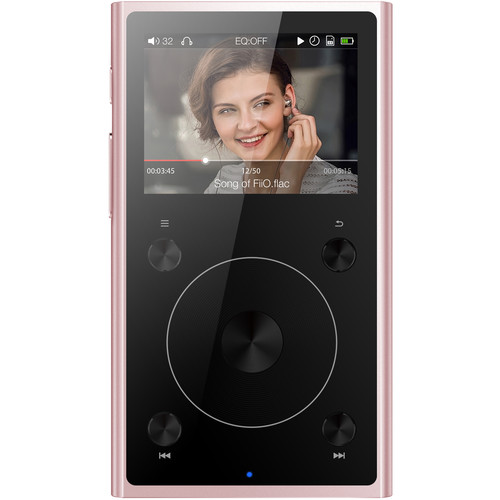 FiiO X1 2nd Generation Portable High-Resolution Lossless Music Player (Rose Gold)