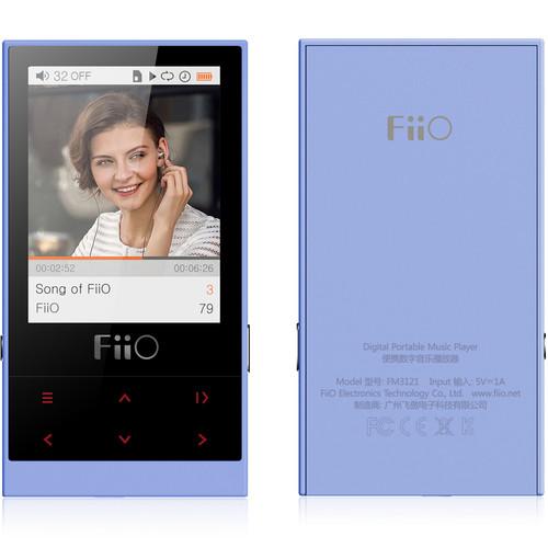 FiiO M3 Micro-Portable Digital Music Player (Blue)