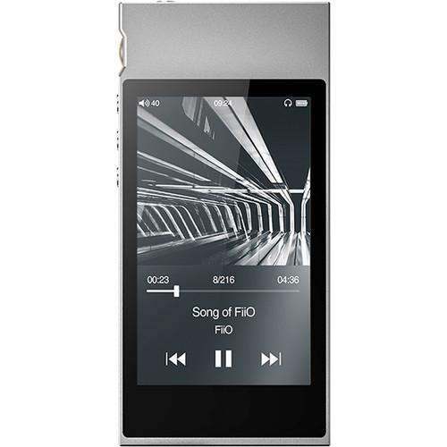 FiiO M7 Portable High-Resolution Lossless Audio Player (Silver)