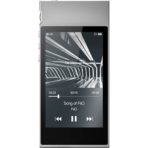 FiiO M7 Portable High-Resolution Lossless Audio Player (Silver)