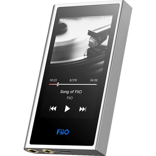 FiiO M9 Portable High-Resolution Lossless Wireless Music Player (Silver)