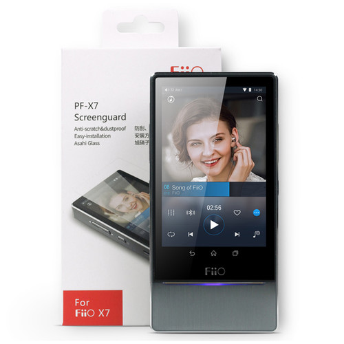 FiiO Tempered Glass Screen Protector for X7 Music Player