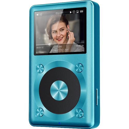 FiiO X1 Portable High Resolution Lossless Music Player (Blue)