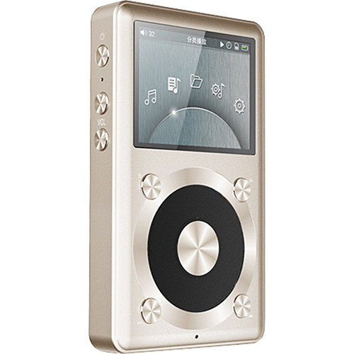 FiiO X1 Portable High Resolution Lossless Music Player (Gold)