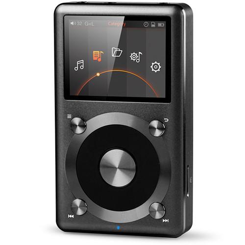 FiiO X3 (2nd Gen) Portable High Resolution Audio Player (Black)